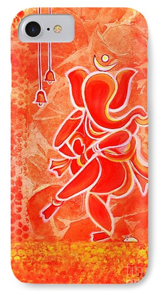 Nritya Ganesha- Dancing God IPhone Case