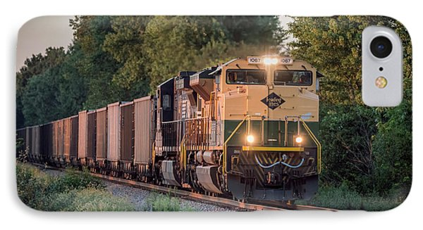 Ns Heritage Reading Lines Southbound At Sullivan In IPhone Case by Jim Pearson