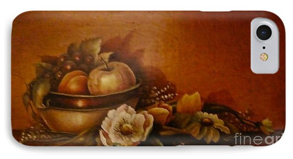 IPhone Case featuring the painting Nsdp/design by Patricia Schneider Mitchell