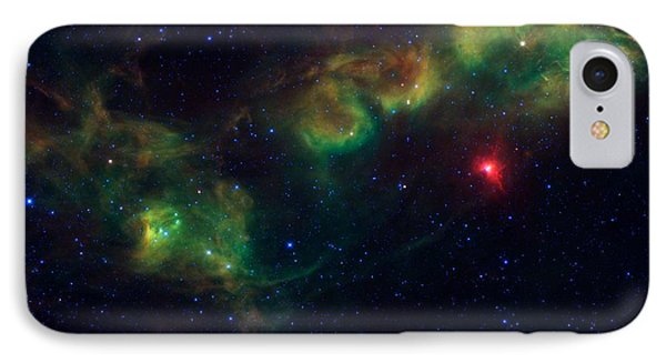 Nu Scorpii Or Jabbah V Sco, 14 Scorpii A Star System In The Constellation Scorpius IPhone Case by American School