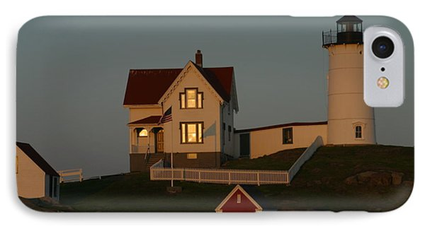 Nubble Light At Sunset IPhone Case by Imagery-at- Work