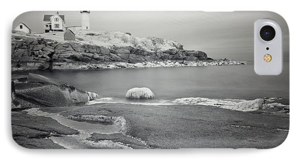 Nubble Light Black And White IPhone Case