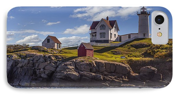 Nubble Light IPhone Case by Capt Gerry Hare
