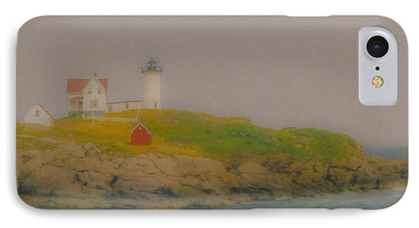 Nubble Light In York, Maine IPhone Case by Bill McEntee