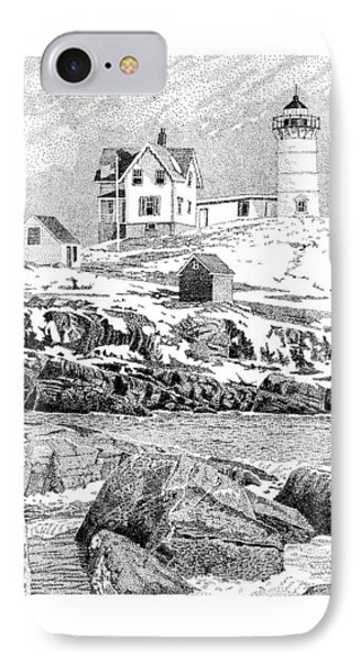 Nubble Light IPhone Case by Philip LeVee