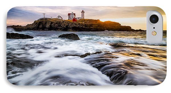 Nubble Light IPhone Case by Robert Clifford