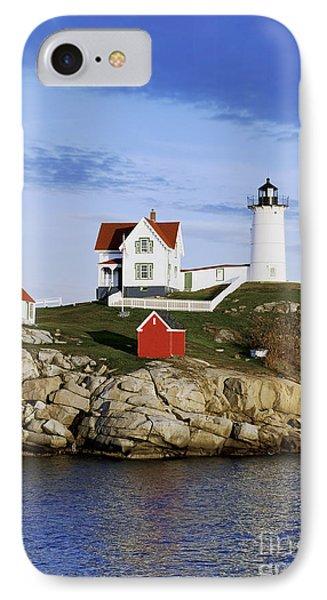 Nubble Lighthouse Phone Case by John Greim