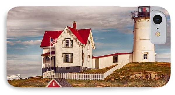 Nubble Lighthouse IPhone Case by Mick Burkey