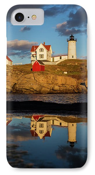 Nubble Lighthouse IPhone Case by Mircea Costina Photography