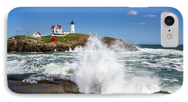 Nubble Lighthouse IPhone Case by Robert Clifford