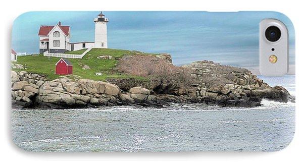 Nubble Lighthouse York Maine IPhone Case