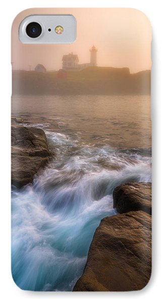 Nubble Morning Fog IPhone Case by Darren White