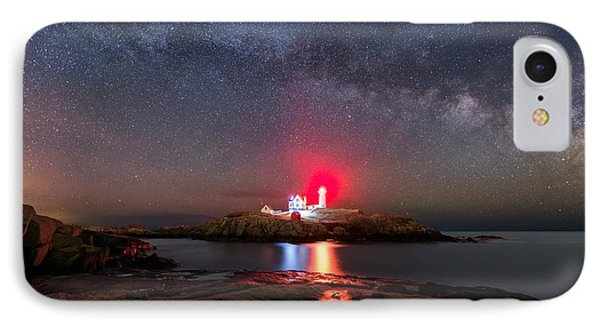Nubble Night IPhone Case by Michael Blanchette