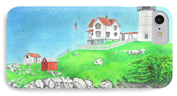 Nubble IPhone Case by Troy Levesque