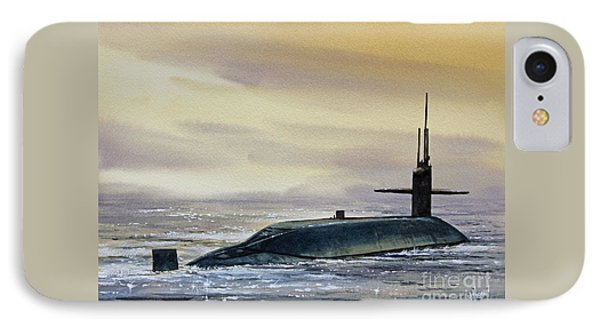 Nuclear Submarine Phone Case by James Williamson