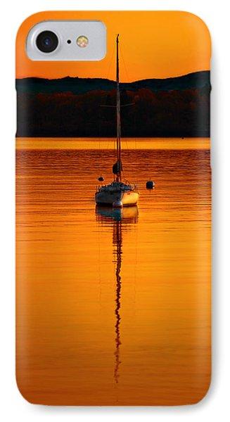 Nuclear Sunset Phone Case by Meirion Matthias