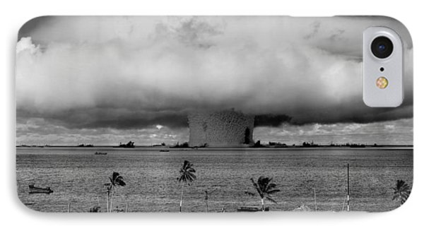 Nuclear Weapon Test - Bikini Atoll IPhone Case by War Is Hell Store