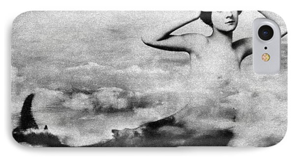 Nude As Mermaid, 1890s Phone Case by Granger