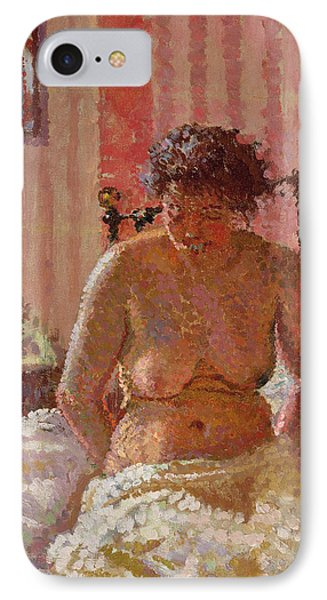 Nude In An Interior Phone Case by Harold Gilman