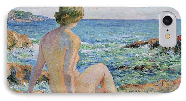 Nude On The Coast Monaco IPhone Case by Pierre Van Dijk