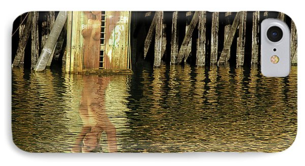 Nude Reflection Phone Case by Harry Spitz