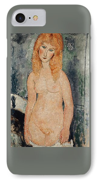 Nude Standing IPhone Case