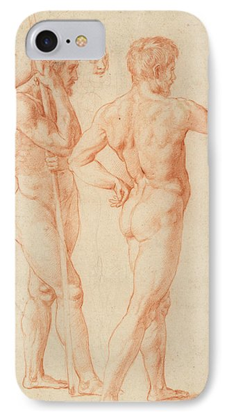 Nude Studies IPhone Case by Raphael