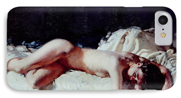 Nude Study IPhone Case by Sir William Orpen