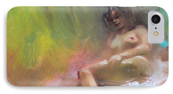 Nude Study IPhone Case by Ylli Haruni