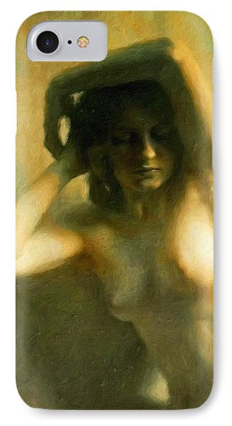 Nude Woman Phone Case by Vincent Monozlay