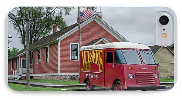 Nueske Meat Store IPhone Case by Susan  McMenamin