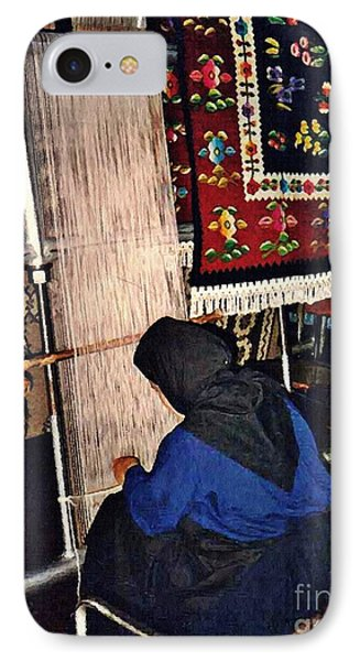 Nun Knotting Carpet Phone Case by Sarah Loft