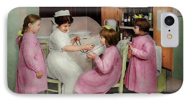 IPhone Case featuring the photograph Nurse - Playing Nurse 1918 by Mike Savad