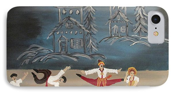 Nutcrackers Dance Of Russian Cossacks IPhone Case