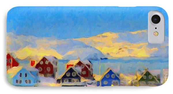 Nuuk, Greenland IPhone Case by Chris Armytage