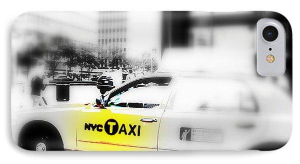 Nyc Cab IPhone Case