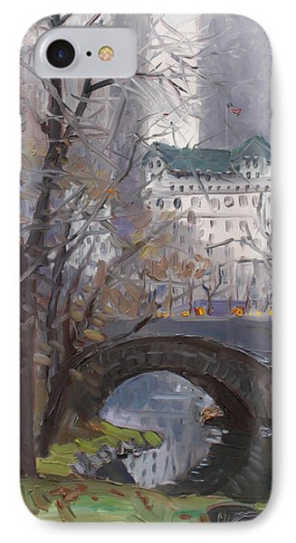 Nyc Central Park Phone Case by Ylli Haruni