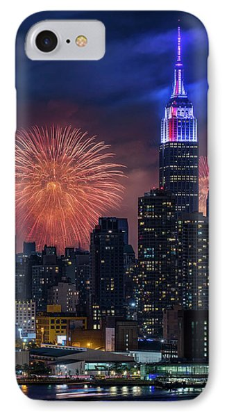 Nyc Fourth Of July Fireworks  IPhone Case