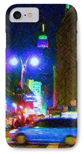IPhone Case featuring the photograph Nyc In Tie Dye by Susan Carella
