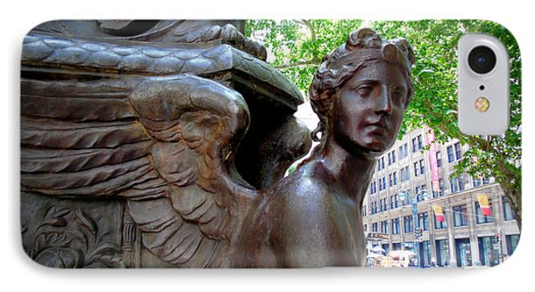 Nyc Library Angel IPhone Case