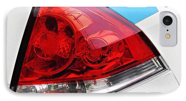 Nyc Police Car Brake Light IPhone Case