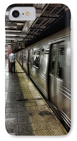 Nyc Subway IPhone 7 Case by Martin Newman