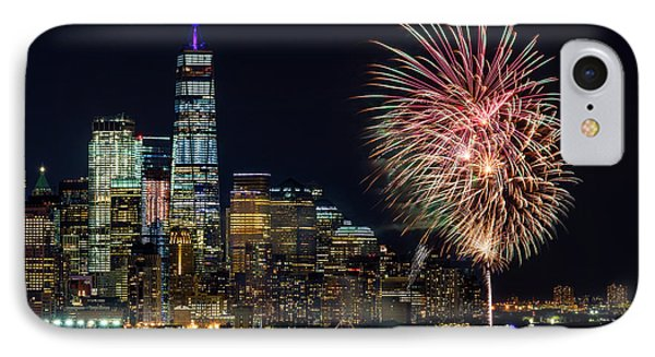 IPhone Case featuring the photograph Nyc World Trade Center Pride by Susan Candelario