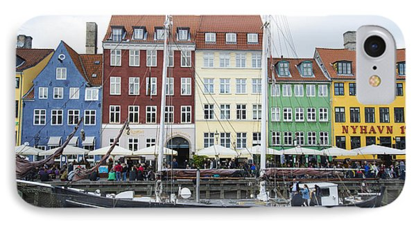 Nyhavn 17 IPhone Case by Eric Nielsen