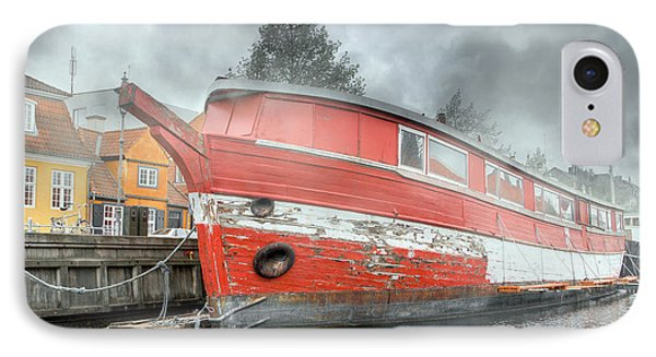 Nyhavn Enchanting Character IPhone Case by Betsy Knapp