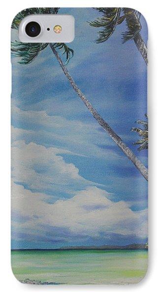 Nylon Pool Tobago. Phone Case by Karin  Dawn Kelshall- Best
