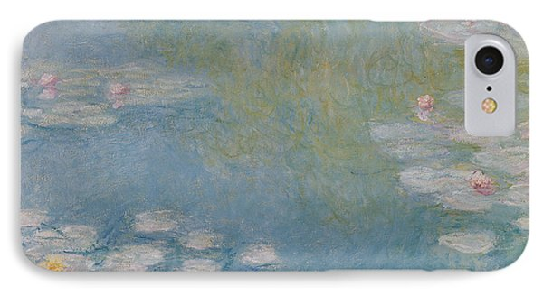 Nympheas At Giverny Phone Case by Claude Monet