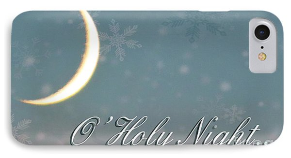 O Holy Night IPhone Case by Billie-Jo Miller