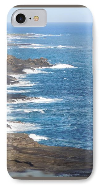 Oahu Coastline IPhone Case by Karen J Shine