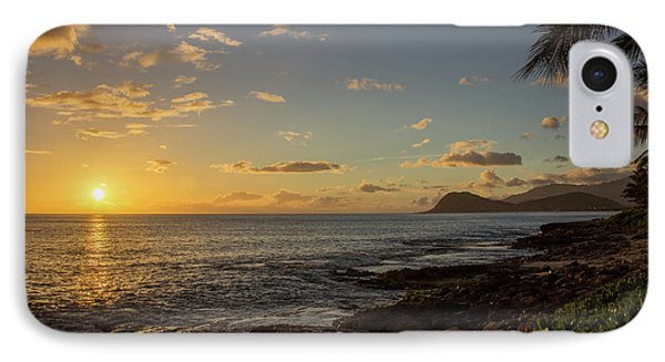IPhone Case featuring the photograph Oahu Sunset by RKAB Works